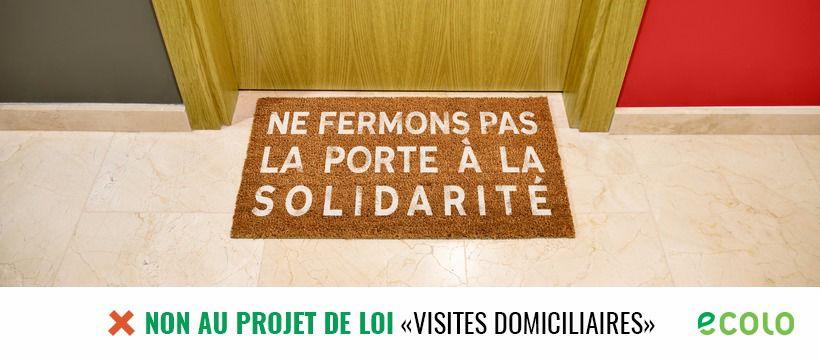 #VisitesDomiciliaires – Ce mardi 27 mars, présentation au vote d'une Motion au Conseil Communal de Lasne.