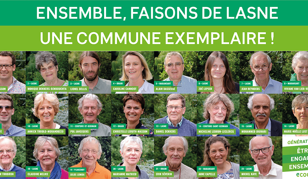 Nos candidats